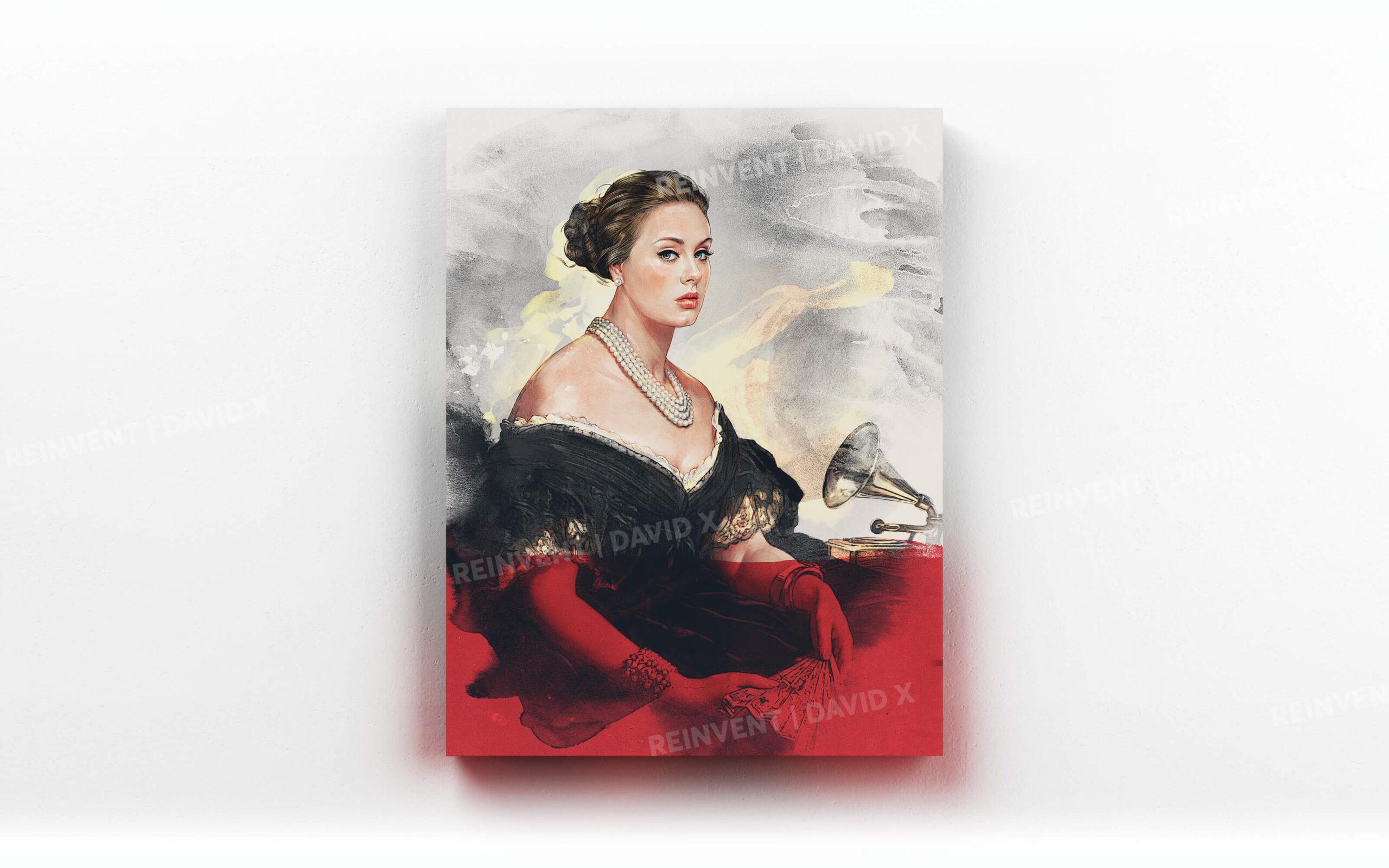 Adele - Reinvent Art | David X